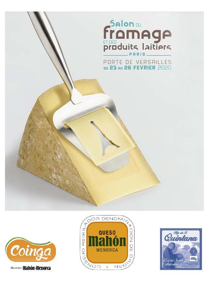 Queso Mahón Menorca · Salon du Fromage